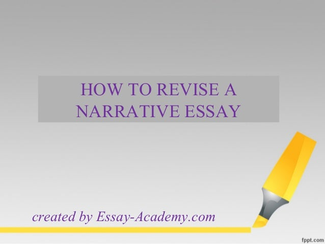 revising a narrative essay In revising a narrative essay, writing mini lesson 23- revising a narrative essay – rockin this post will provide ideas for your writer x27.