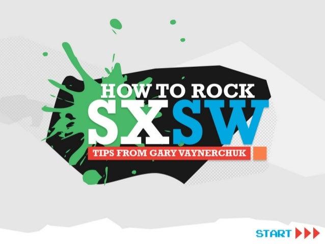 How to Rock SXSW