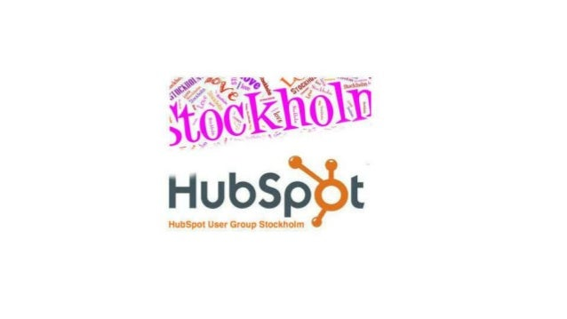 HubSpot User Group Stockholm - Inbound Campaign