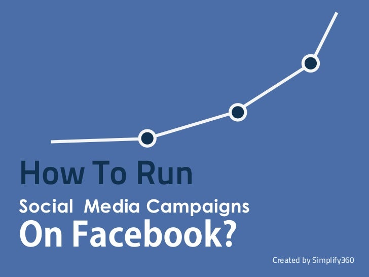 How to run social media campaigns on facebook