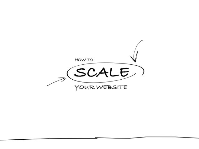 How to scale website