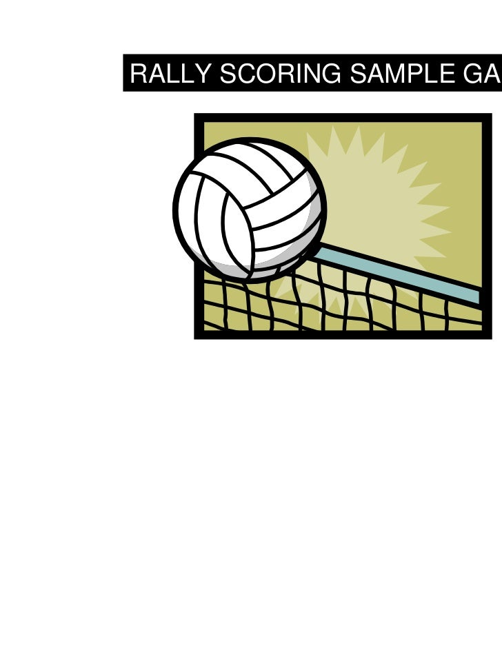 Volleyball Scoring