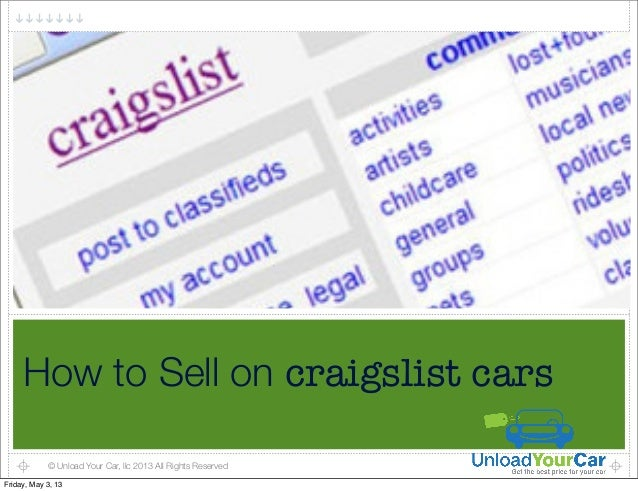 how to sell on craigslist cars. Black Bedroom Furniture Sets. Home Design Ideas