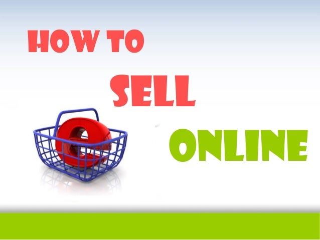 How tosellonline