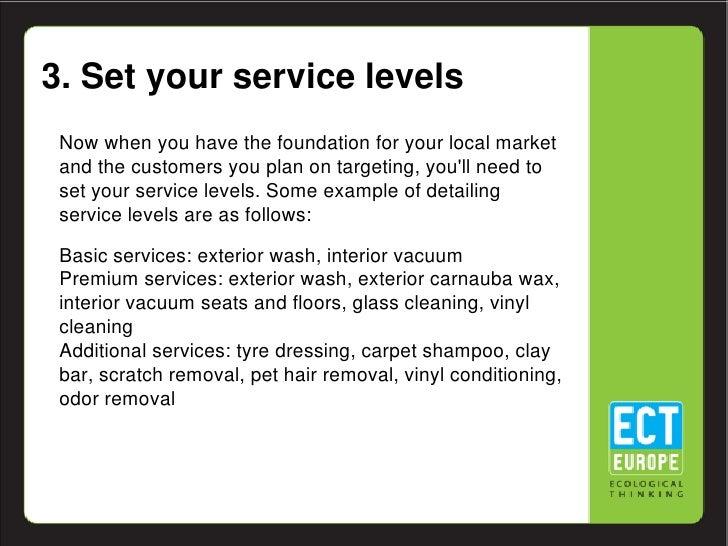 Automatic car wash business plan