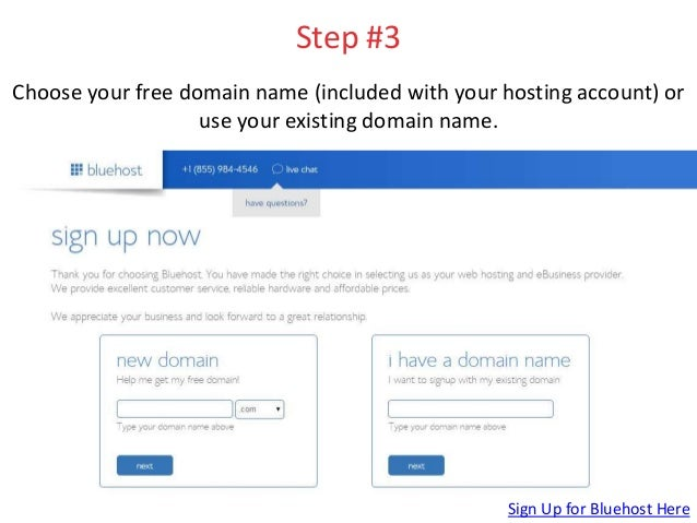 How To Set Up A Wordpress Website On Bluehost Step By Step