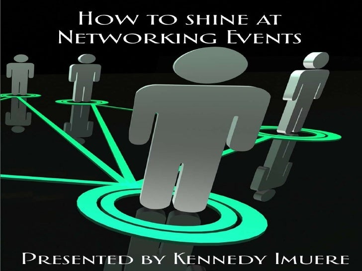 How to shine at networking events workshop slides2