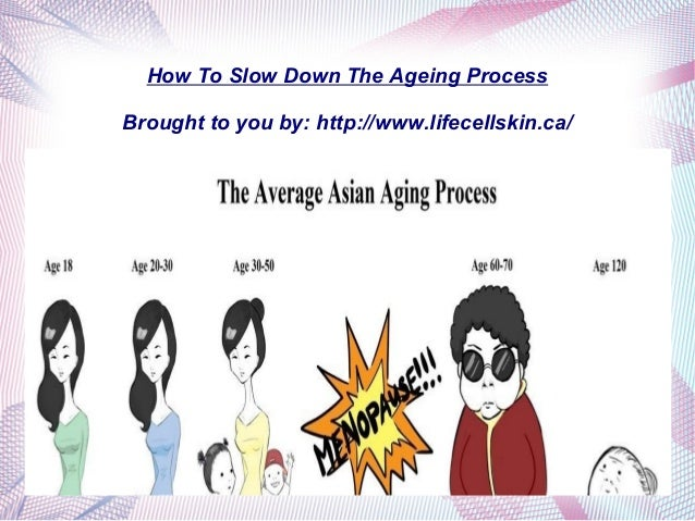 How To Slow Down The Ageing Process Brought to you by: http://www.lifecellskin.ca/