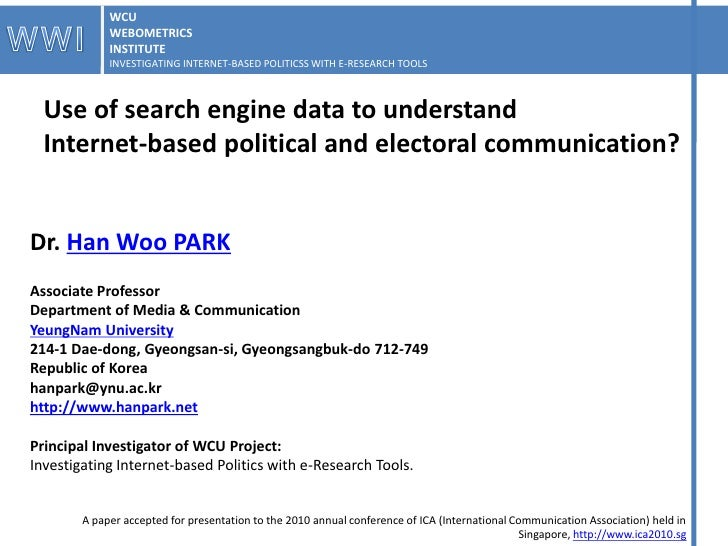 How to social scientists use link data (11 june2010)