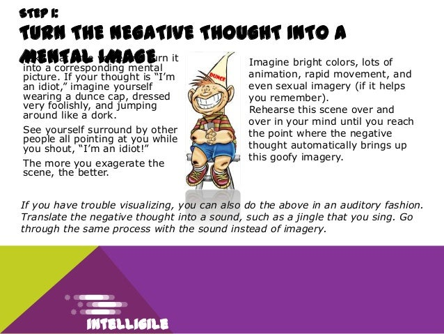 how to change negative thought patterns