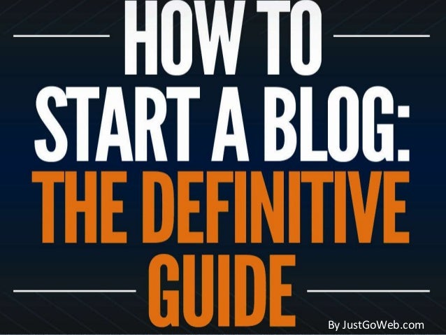 How to start your own Blog - Easy Steps to create your own Wordpress Blog