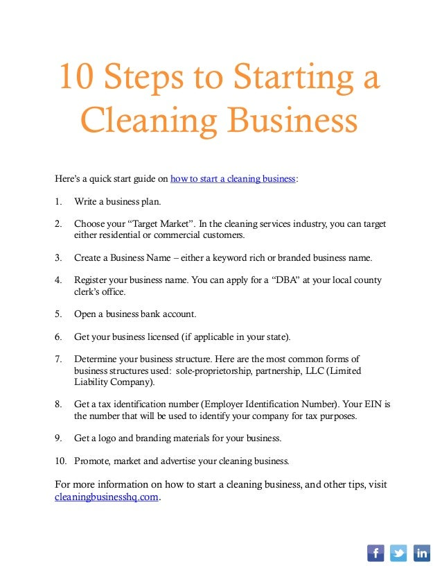 how to write a business plan for a cleaning service Apartment cleaning service business plan more  bed and breakfast business plan  sample cleaning proposal template step 7 business forms - start a.