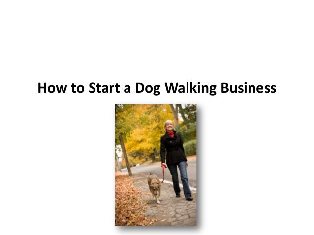 Starting a Dog Walking Service at Home – Sample Business Plan Template