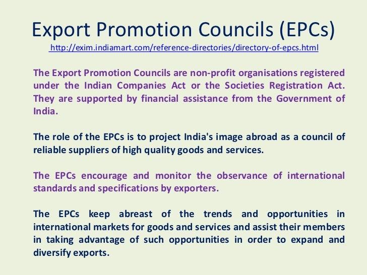 Export import business plan