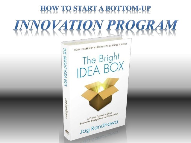 How to Start an Innovation Program