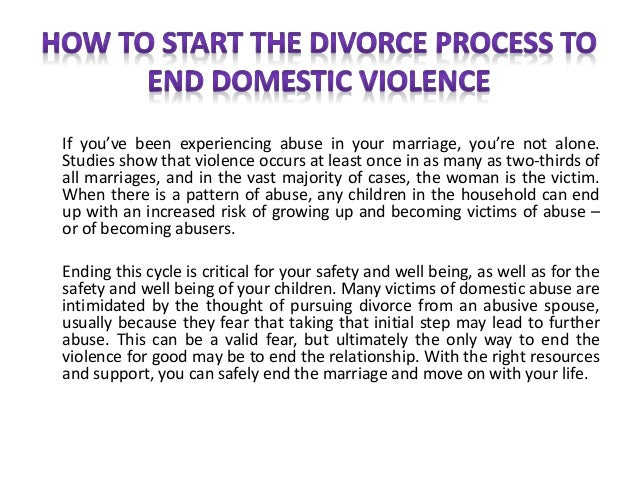 Short Essay on domestic violence