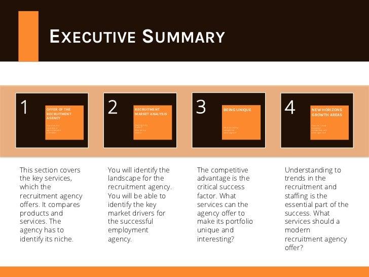 Recruitment agency business plan