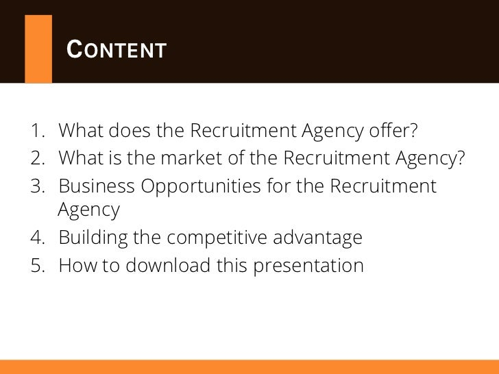 how to find a recruitment agency