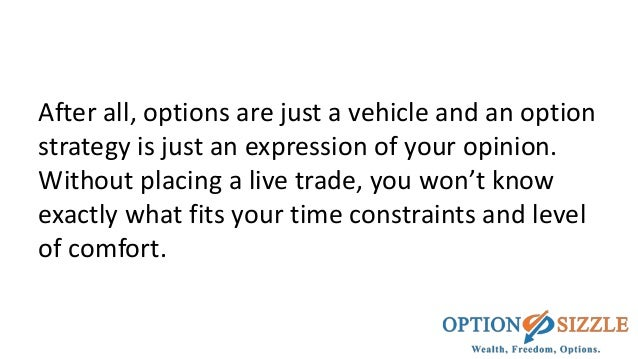 Trading options successfully