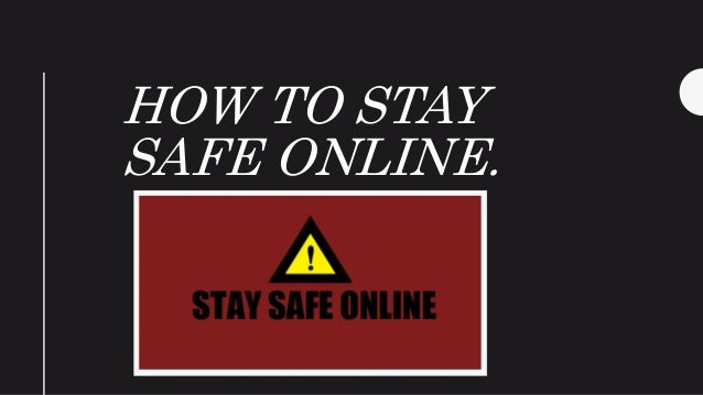 Online Hookup Safe Or Not Presentation