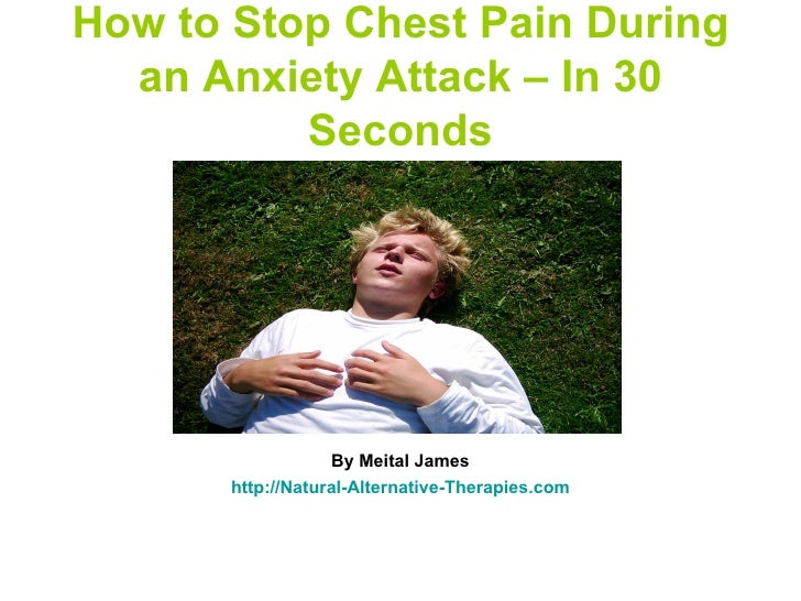 how to stop anxiety and end panic attacks
