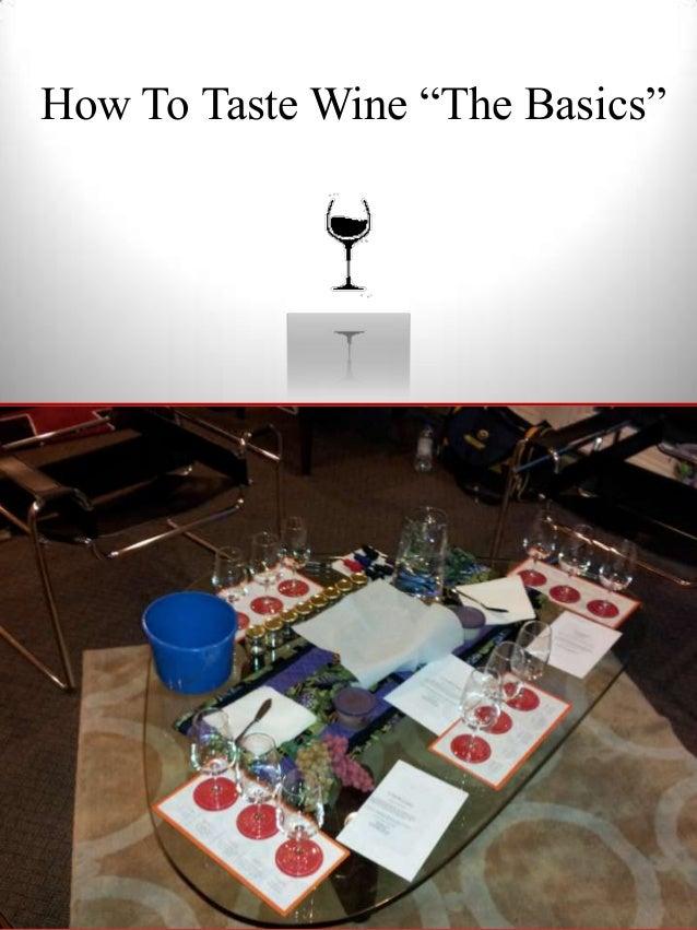 How to Taste Wine Book