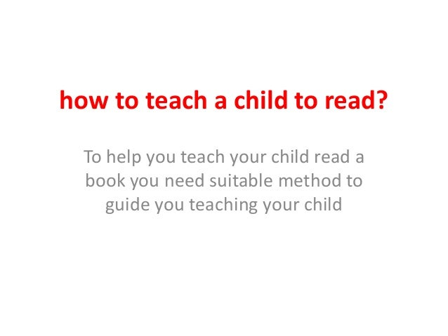 How to teach a child to read   reading programs for kids