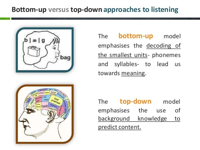 bottom-up và top-down listening