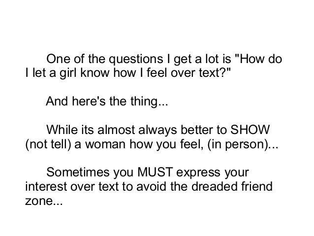 How Do U Know A Girl Like U