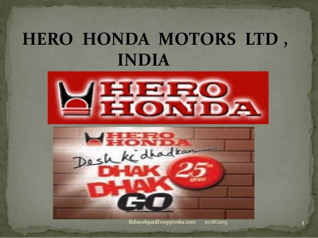 How to theory apply in to practical of marketing  management to hero honda company