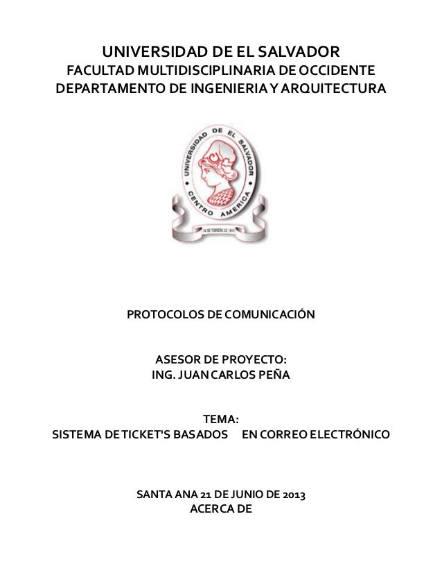 How to tickets - Protocolos de Comunicación