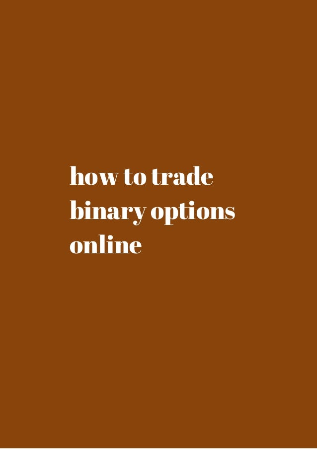 Best binary options online