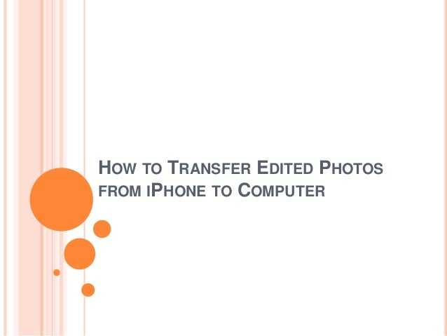 how to send photos from your computer to your iphone