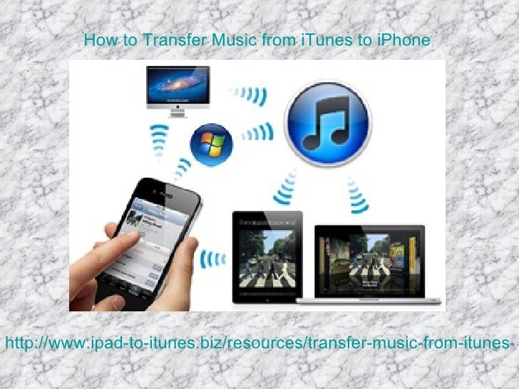 How to Transfer Music from iTunes to iPhonehttp://www.ipad-to-itunes.biz/resources/transfer-music-from-itunes-t