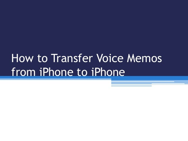 how to send voice memos from iphone to messenger