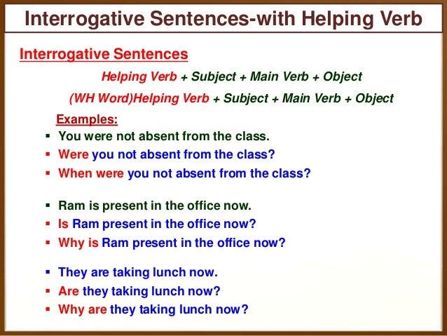 Similiar Interrogative Sentence Keywords