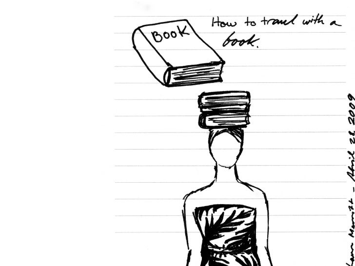 How To Travel With A Book