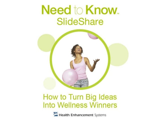 How to Turn Big Ideas Into Wellness Winners
