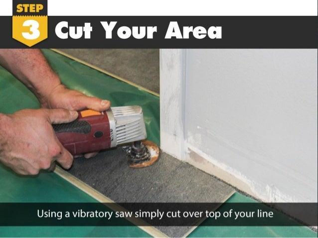 How To Undercut A Door Laminate Flooring Installation