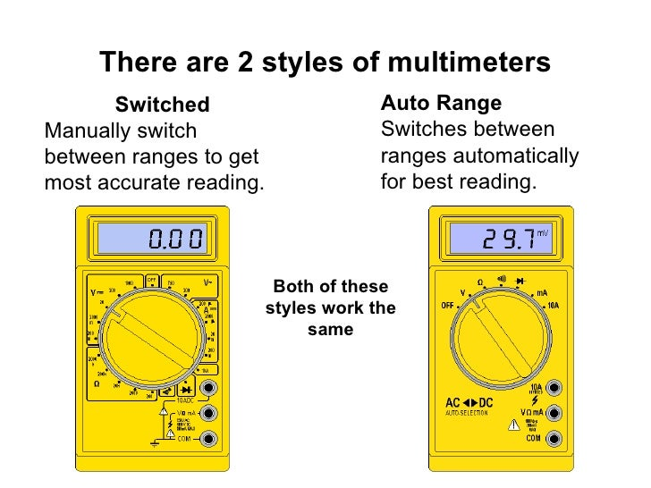 how to use digital multimeter to check continuity