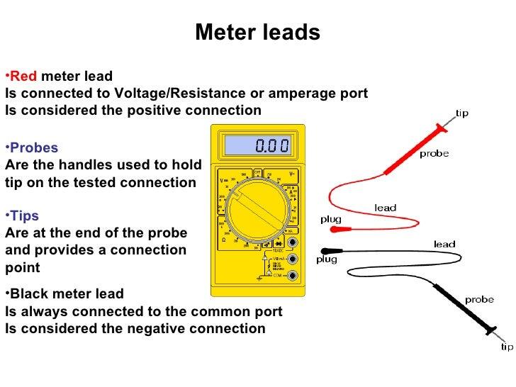How do you use a voltmeter?