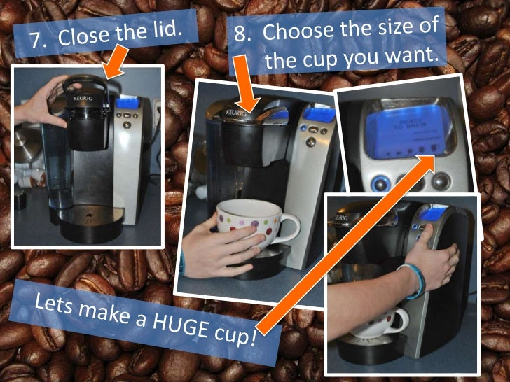 how to use coffee maker keurig