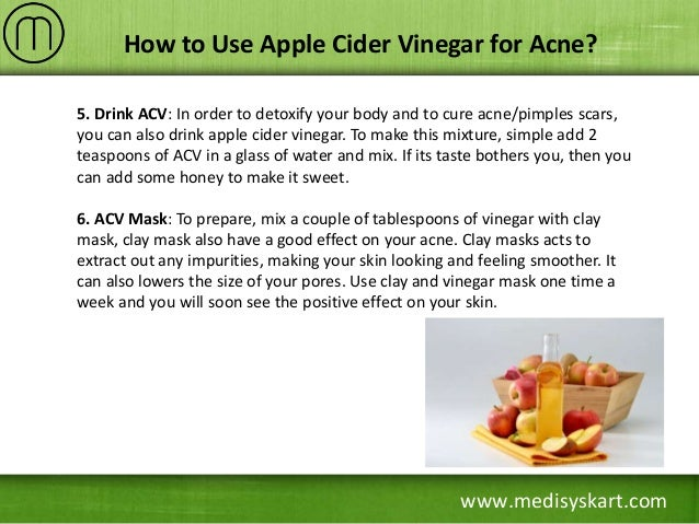 How to cure pimples acne with apple cider vinegar foto