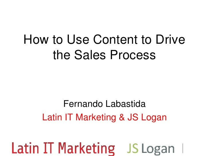 How to use content to accelerate your sales cycle