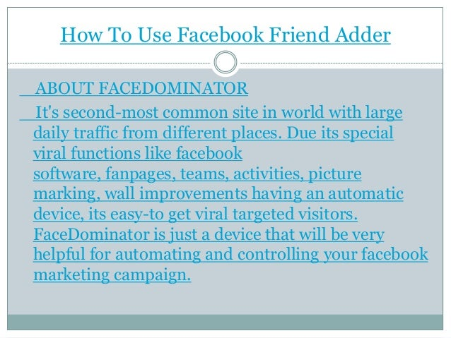 Facebook Likes Adder Like Facebook Software