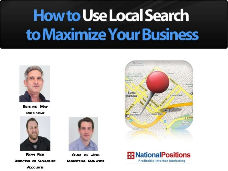 How to Use Local Search to Maximize Your Business