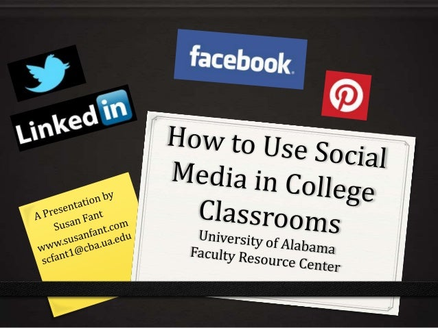 How to Use Social Media in College Classrooms