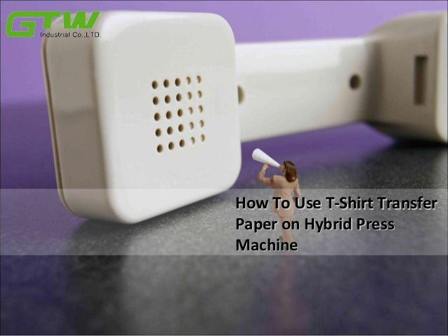 how to use a t shirt press machine