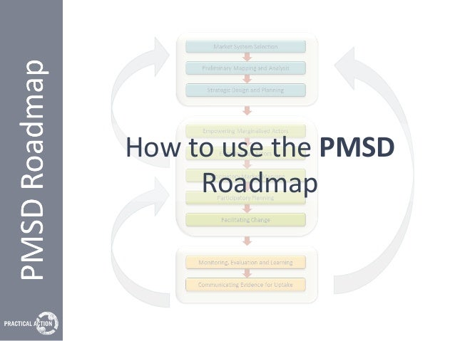 How to use the PMSD Roadmap - updated