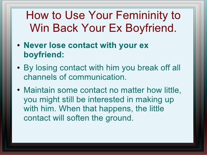 How To Win Your Ex Back After Cheating